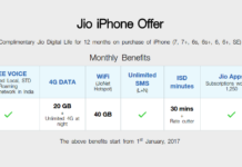 Jio iPhone offer 2017